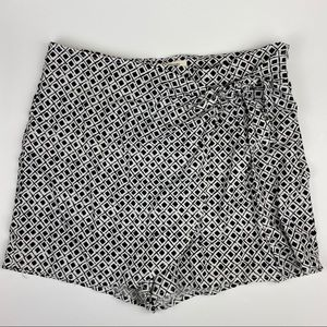 Urban Outfitters Wrap Front Skort